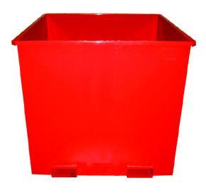 Kontejner pro otočné vidlice 1100 l