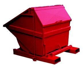 Výklopný kontejner Profi s víkem 800 l