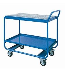 Dílenský vozík s roštem
