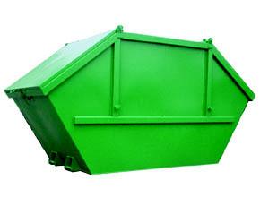 Vanový kontejner s odpruženými víky 5,5 m3