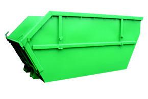 Vanový kontejner se sklopným čelem 5,5 m3