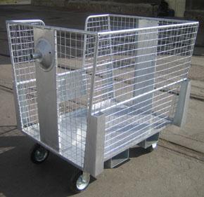 Pojízdný síťový box
