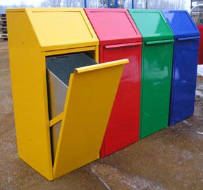 Koš na tříděný odpad - velký