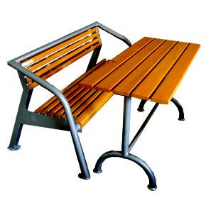 Lavička + venkovní stůl